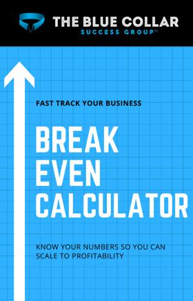 BCSG Breakeven Calculator
